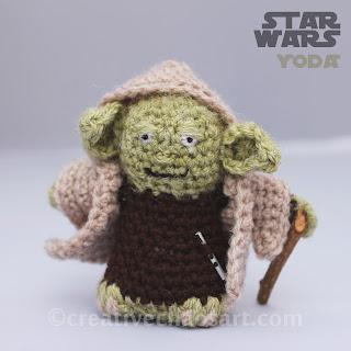 Amigurumi Crochet In The Round : Creative Chaos Art: Star Wars Crochet Round Up!