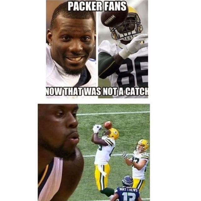 Packers Fans now that was not a catch - #BrandonBostick #DezBryant #Cowboys #Packershaters #NotaCatch