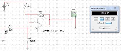 Circuito Operacional : Engenharia questões resolvidas amplificador operacional subtrator