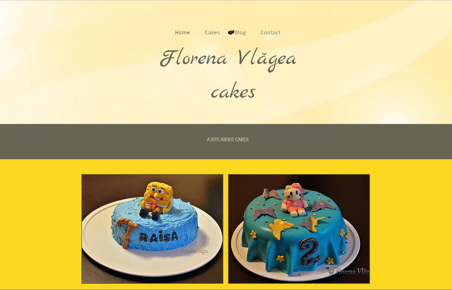 Site-ul FlorenaCakes