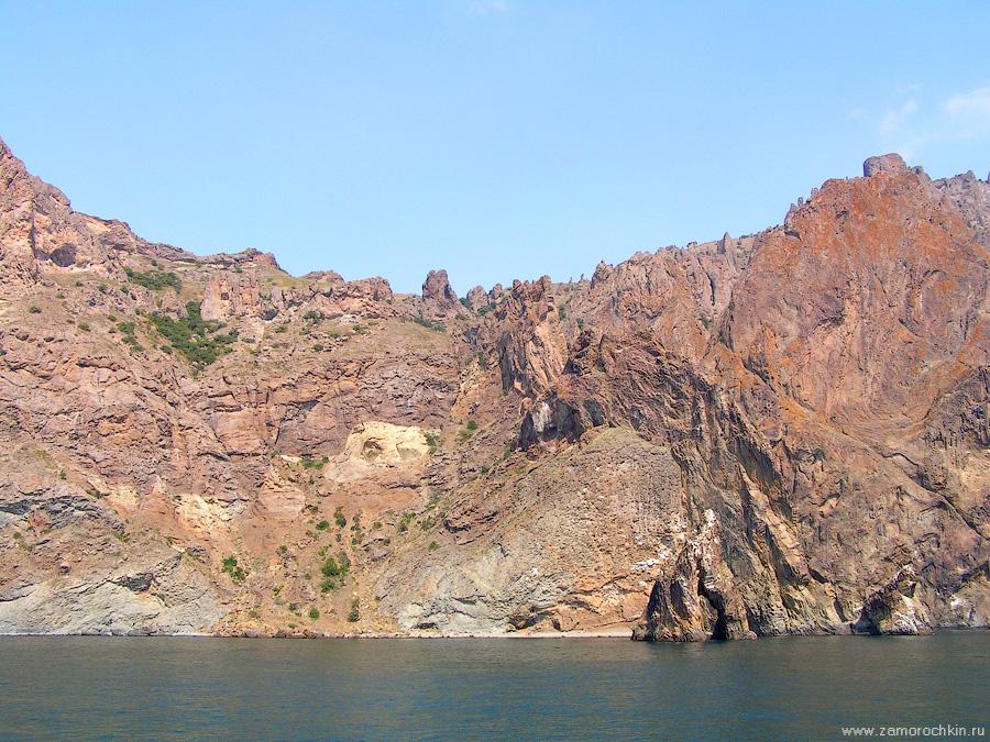 Кара-Даг. Скалы Хоба-Тепе | Kara-Dag. Cliffs of Khoba Tepe