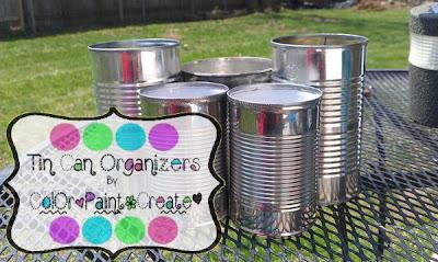 Tin Can Organizers