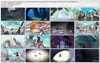 Download Film One Piece Episode 552 (Pengakuan yang Mengejutkan! Kebenaran Dibalik Pembunuhan Otohime!) Bahasa Indonesia