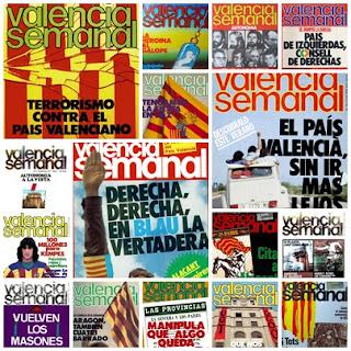 Portadas Valencia Semanal