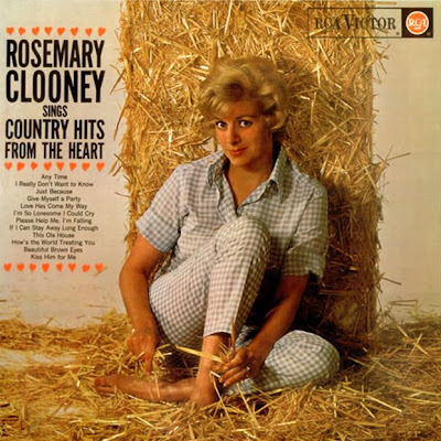 Rosemary Clooney - Rosemary Clooney Sings Country Hits From The Heart 1963 (USA, Traditional Pop)