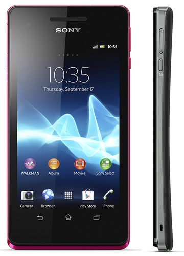 Sony Xperia V Smartphone Tahan Air dengan Kamera 13 MP