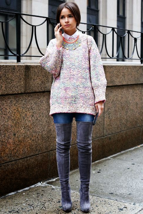Over the knee boots / Miroslava Duma