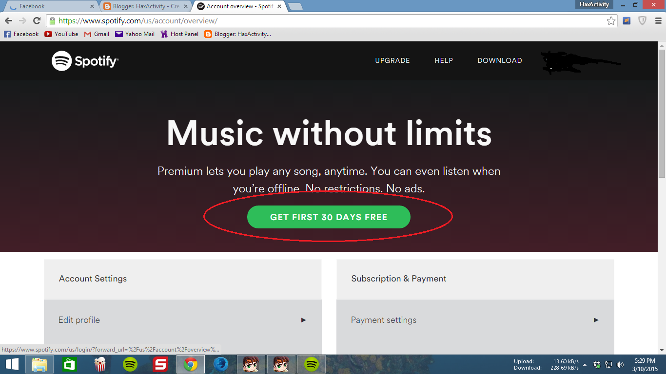 I'm guessing you haven't had your 30 days free trial? There appears to be an issue with the spotify premium redemption code system that is ongoing today, its discussed in this thread. I would recommend you contact the payments team directly using the contact form. I will also escalate this thread for the staff to look at further.