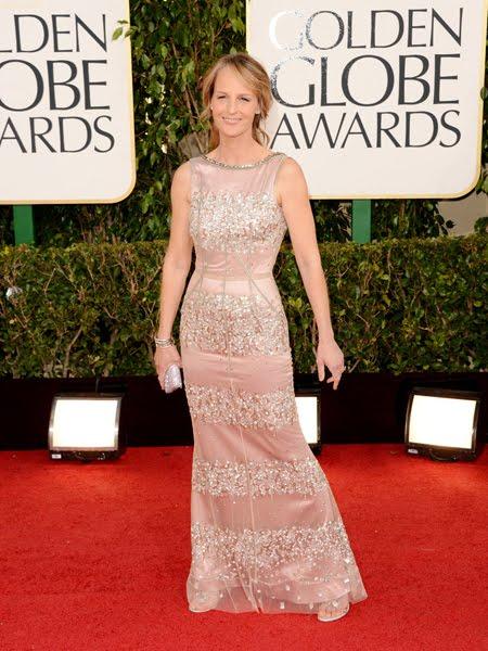 Хелън Хънт в блестяща рокля на Dolce & Gabbana
