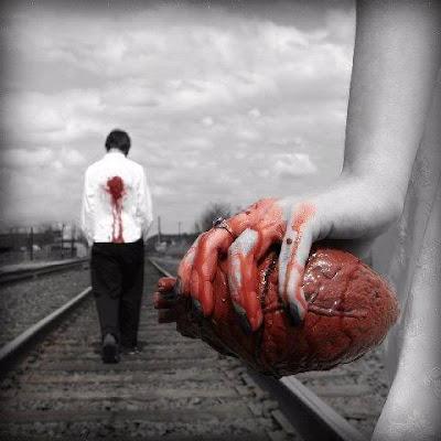 لماذا تكرهني وانا احبك ؟؟!! - قلب رجل مجروح