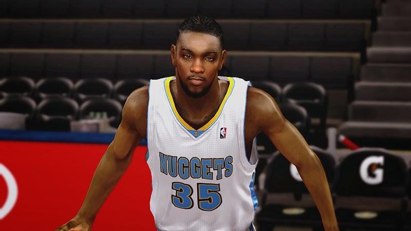 NBA 2K14 Kenneth Faried Cyberface - NBA2K.ORG