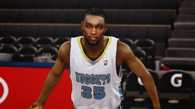 NBA 2K14 Kenneth Faried Cyberface Mod