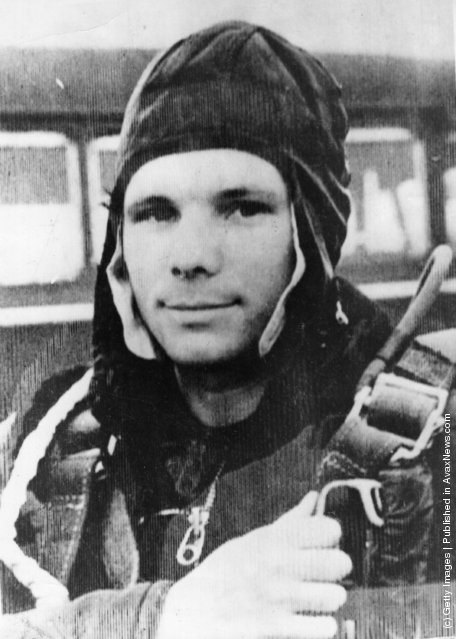 Portraits Of Yuri Gagarin The First Human To Journey Into