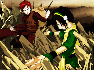 Gaara Top Last Airbender Anime HD Wallpaper Desktop Background