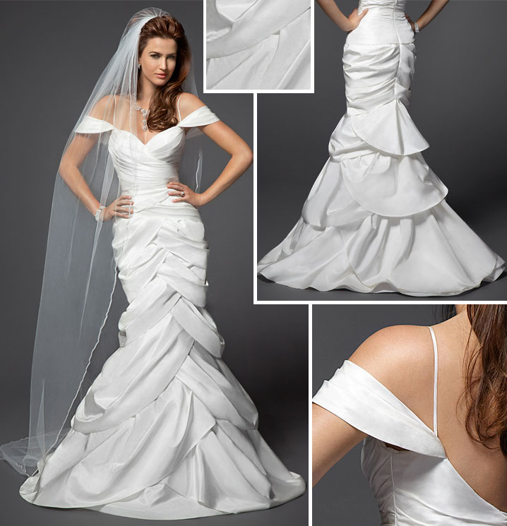 Bebe 39 s first bridal collection for Tulip wedding dress style