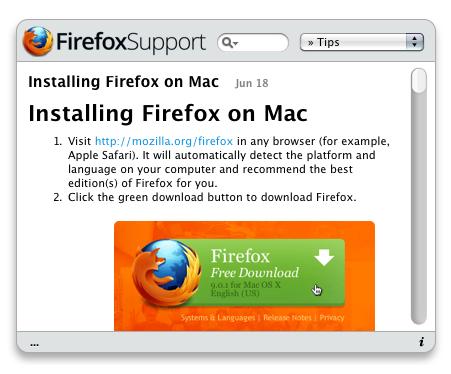 FirefoxSupport
