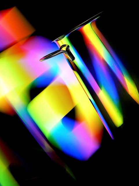 lightpaint photography_panela_cozinha_arco-íris_abstracto_fotografia
