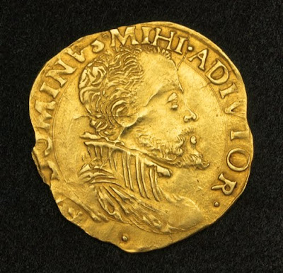 Real Gold Coin King Philip