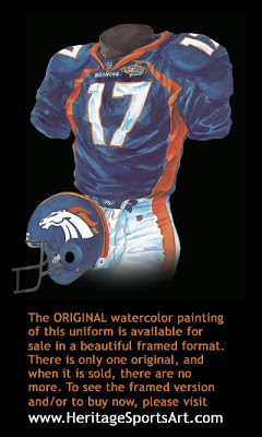 Denver Broncos 1997 uniform