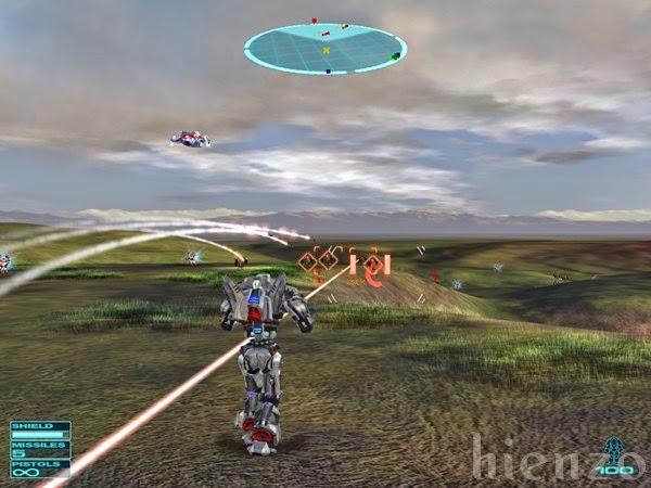 Gun Metal: War Transformed PC Gameplay