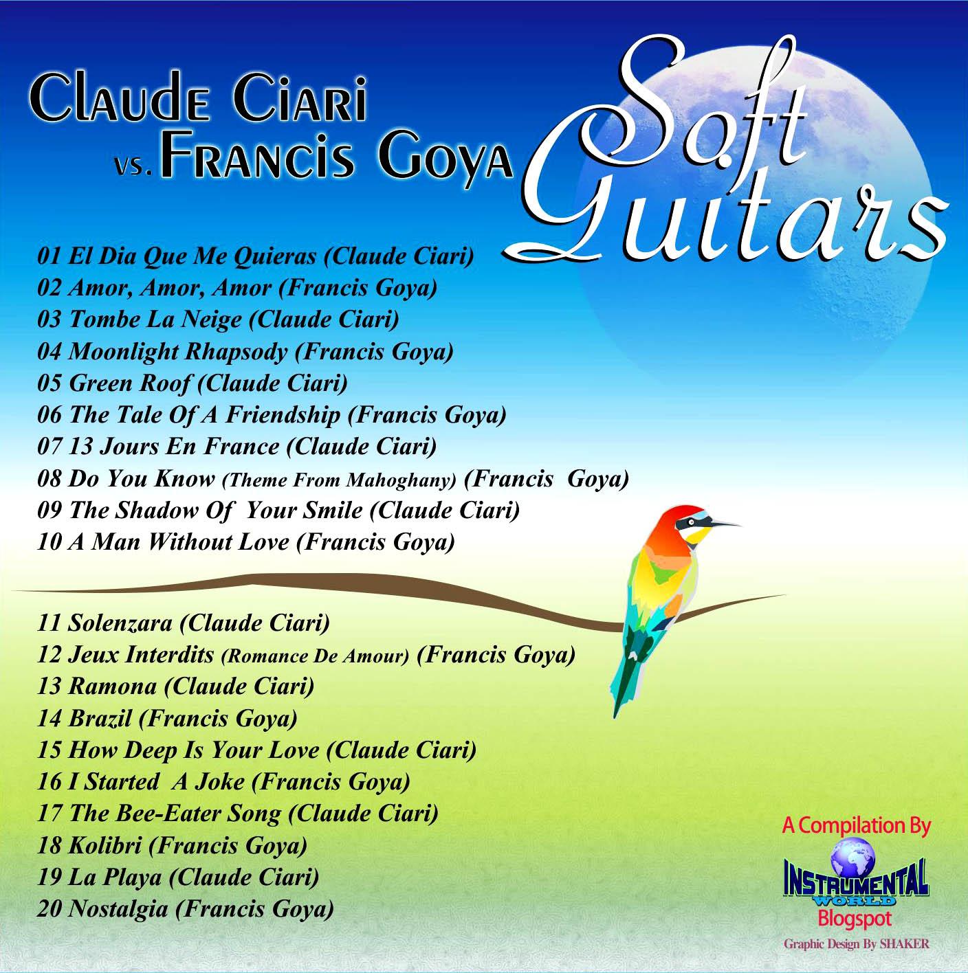 cd Sof Guitar  compilaciòn Soft+Guitars+b