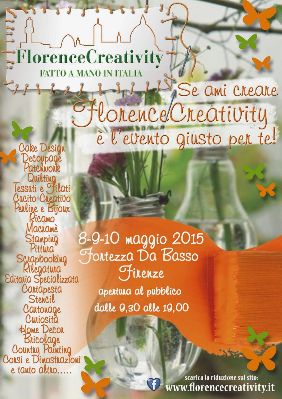 8-9-10 Maggio 2015 florence creativity
