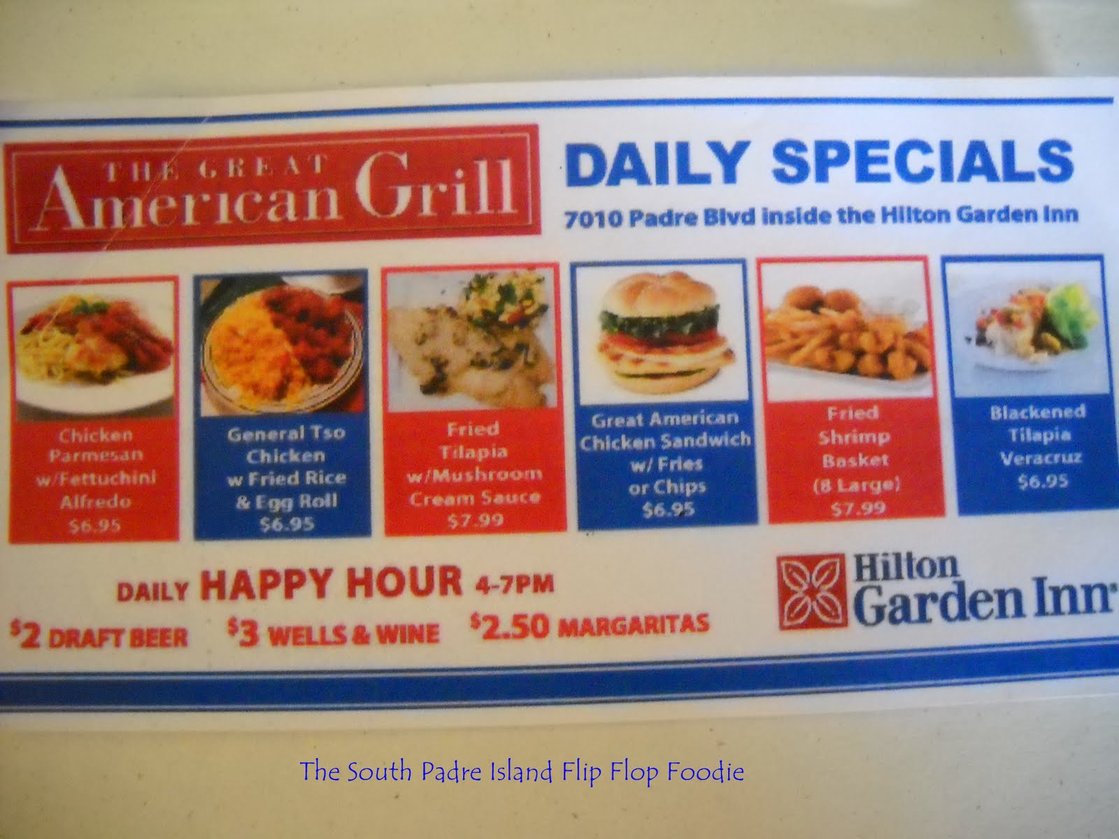 The South Padre Island Flip Flop Foodie The Great American Grill