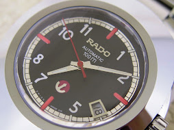 RADO DIASTAR NEW MODEL - AUTOMATIC BLACK DIAL