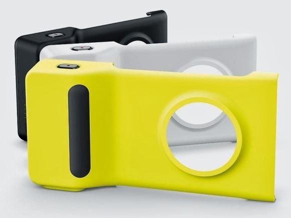 Camera Grip do Lumia 1020 - 580x435