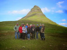 The Painter's Passport group in Iceland