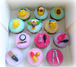 Cupcake Simpson e trucchi