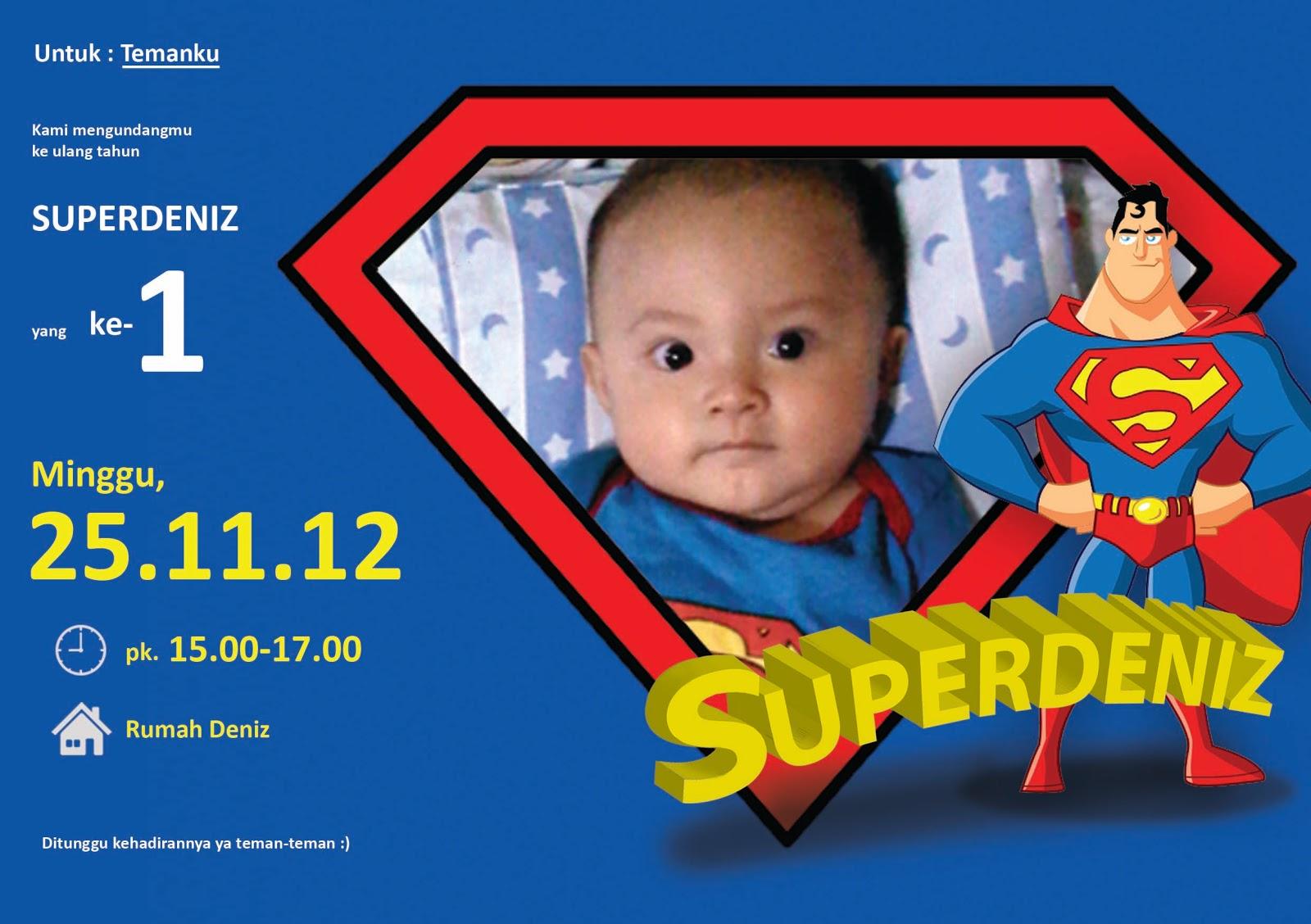Superdeniz Invitation