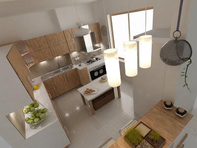 creativo diseño interior de cocinas