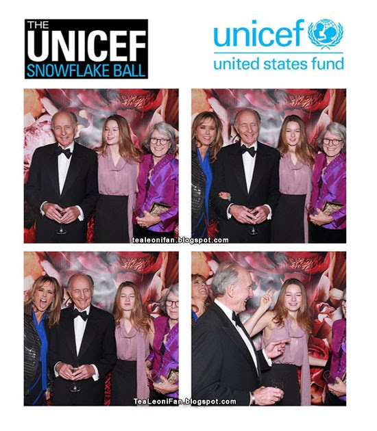 Téa Leoni, West Duchovny and Anthony and Emily Pantaleoni - Unicef Snowflake Ball 2013