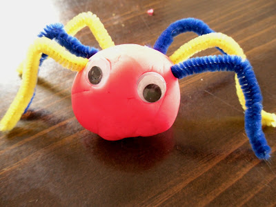 Pie for Breakfast: Kindergarten Art: Playdough Bugs