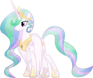 Little Pony Princes Celestia