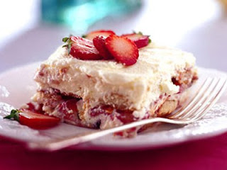 Delicious Tiramisu Strawberries