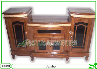 Bufet Meja Tv Klender Jati Jumbo