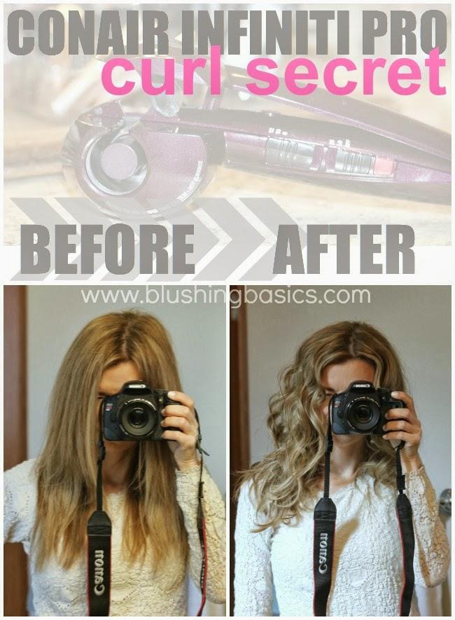 Blushing Basics Infiniti Pro By Conair Curl Secret