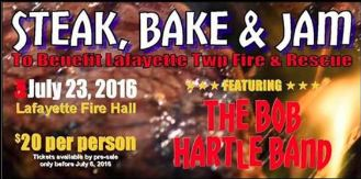 7-23 Steak Bake & Jam, Lafayette