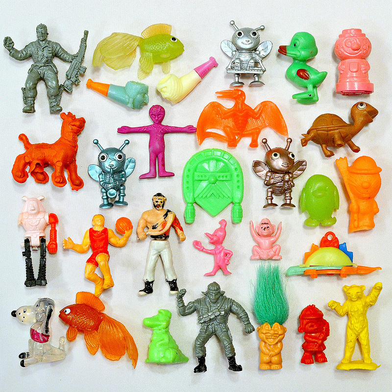 Mini Toy Mix Up More Cheap Capsule Treasures