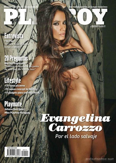 FOTOS: Evangelina Carrozzo Revista Playboy Argentina - Abril 2015