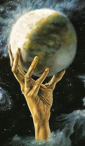 demiurgo  el creador del mundo
