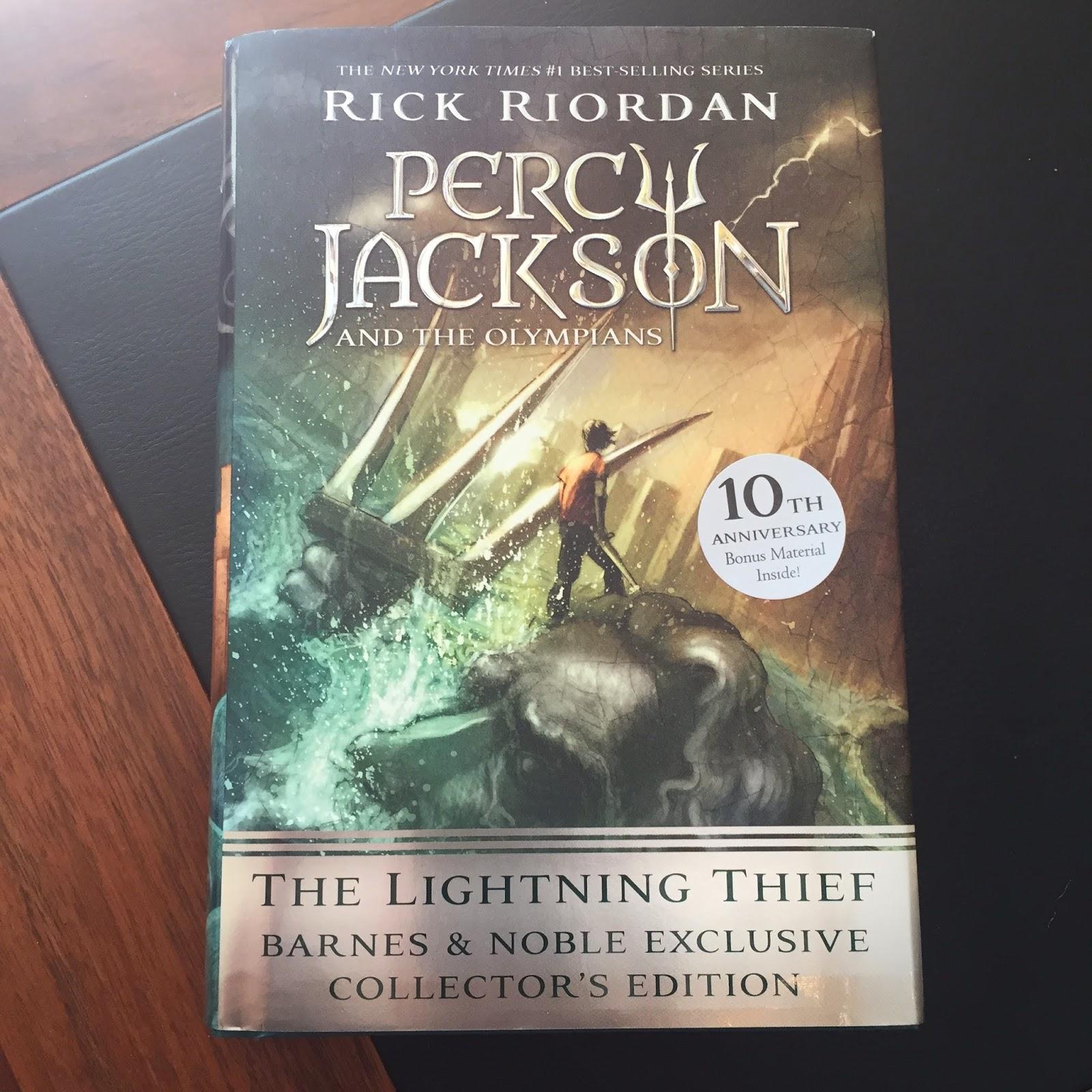 the lightning thief 10th anniversary edition rick riordan