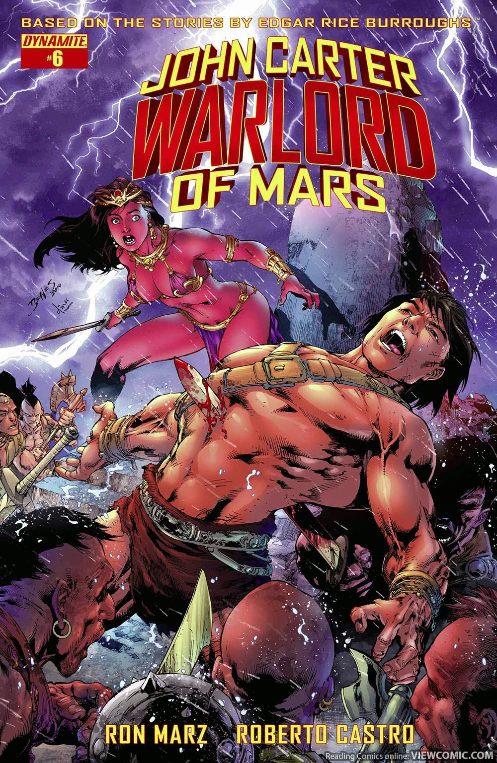 john carter warlord of mars | viewcomic reading comics online for