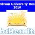 Burdwan University Result 2016 buruniv.ac.in UG PG Results