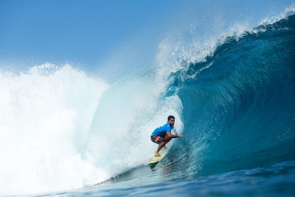 19 Bruno Santos Billabong Pro Tahiti Foto WSL Stephen Robertson