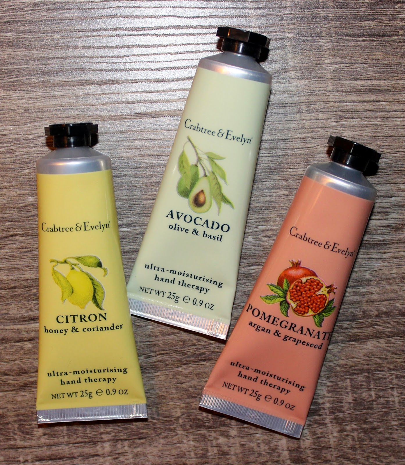 Crabtree & Evelyn Fruits & Botanicals Hand Therapy Trio