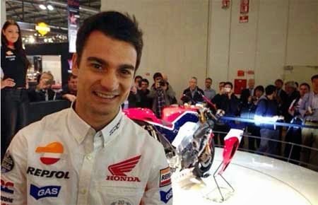 Honda RC213V-S dan Dani Pedrosa