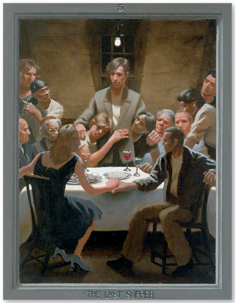 The Last Supper by Douglas Blanchard.